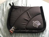 Gloockler by HKM Saddle Pad Full DR, Black