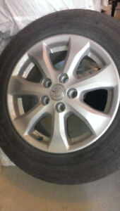 Toyota Camry All Season Michelin Tires and Rims. Good condition.