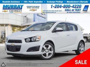 2014 Chevrolet Sonic LT Auto *Heated Seats, Remote Start, OnStar