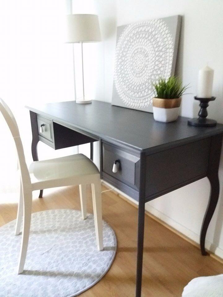 ikea edland desk vanity table designer chair limited edition in luton bedfordshire. Black Bedroom Furniture Sets. Home Design Ideas