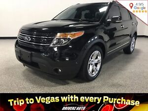 2013 Ford Explorer Limited CLEAN CARPROOF, LIMITED TRIM, 4X4