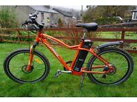 Used Freego Martin Sport electric bike 20ah battery. Up to 100 mile range