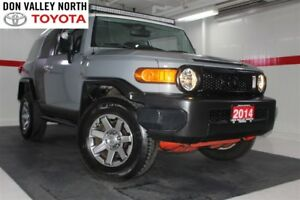 2014 Toyota FJ Cruiser 4WD Btooth Pwr Wndws Mirrs Locks