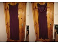 Size 14 Burgundy/Wine Monsoon dress, Lovely Bridesmaids dress or can be used for Prom
