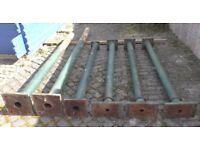 Antique Reclaimed Cast Iron Columns / Pillars / Supports - Various Lengths