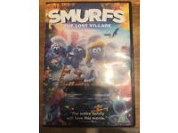 The smurfs the lost village DVD just released.