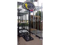 Full Height Adjustable Basketball Stand