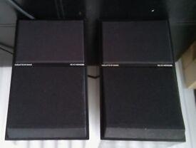 BEOVOX CX50 Bang and Olufsen B&O Bookshelf speakers (Black Metal)