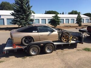 1992 Nissan 180sx rolling shell