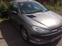 PEUGEOT 206, DIESEL! Ideal wee Runabout @ bargain price!!