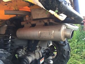 Looking for stock can am exhaust