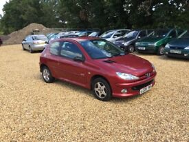 2006 Peugeot 206 1.4 Verve 5 Months MOT 2 Former Keepers Cheap Car