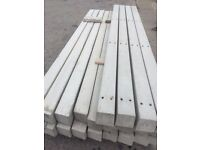 Twin hole fence posts 8ft 100 x 100