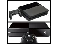 PS4 and XBOX ONE games and console's wanted! Trusted Business buyer