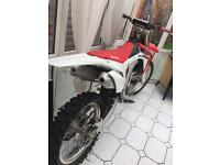 CRF 450 2014 MINT CONDITION! NOT KXF YZF RMZ SXF CR 250