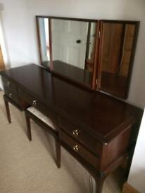 Stag Minstrel dressing table and stool