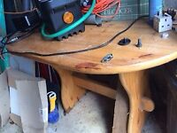 Pine Table - updated photo