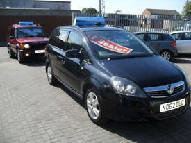Vauxhall/Opel Zafira 1.7CDTi 16v ecoFLEX ( 110ps ) 2012.5MY Exclusiv