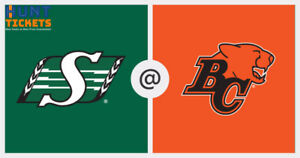 Get tickets for BC Lions vs. Saskatchewan Roughriders