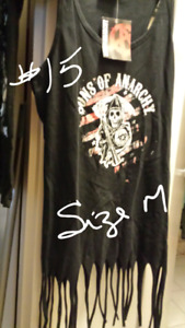 Attention Vendors....lot of SOA and Walking Dead shirts
