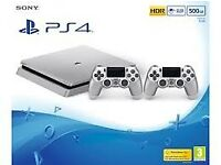Playstation 4 - Silver Limited Edition