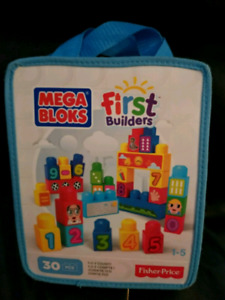 Mega bloks First builders and 3 other toys