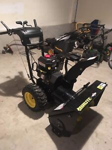 "Brute 27"" 10 hp snowblower"