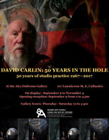 David Carlin: 50 Years in The Hole Opening Reception