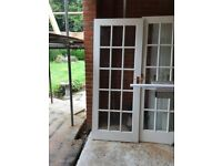 White Pannelled Doors