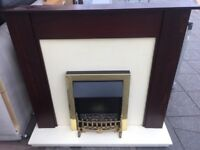 Electric Fire Complete with full surround Nice Free Delivery