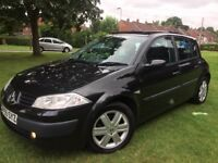 RENULT MEGANE 1.5 DCI OAIS 55 REG 5 DR £30YR TAX PANORAMIC E/ROOF KEYLESS ENTRY 2 OWNERS S/HISTORY