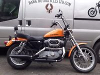 AMAZING 2000 HARLEY DAVIDSON XL1200S SPORTSTER SPORT STAGE 1 TUNED, 22343 MILES, APE HANGERS