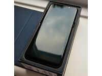 Samsung Galaxy S8. Midnight Black. 64GB.SIM Free. New. Cash or Swap.