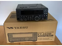 Yaesu FT450D (as new & boxed with microphone etc)