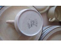 Poole pottery dinner and tea set
