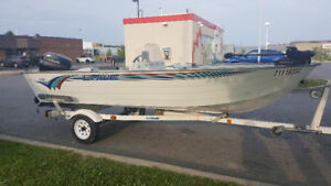 96 lowe 16ft side console