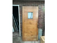 Solid oak door