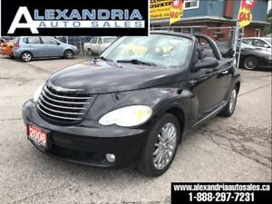 2006 Chrysler PT Cruiser GT covertible 126km auto
