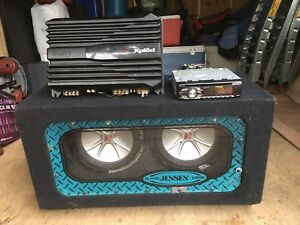 Amplifier/CD Player/Subwoofer