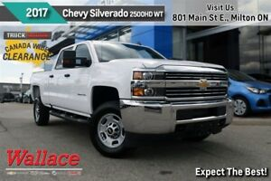 2017 Chevrolet SILVERADO 2500HD WT/6.0L V8/TRAILERING PKG/G80/RE