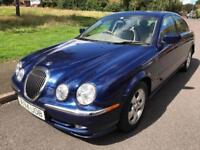 JAGUAR S TYPE (2000 X REG) 3000 CC V6 LOW MILEAGE AUTO FSH