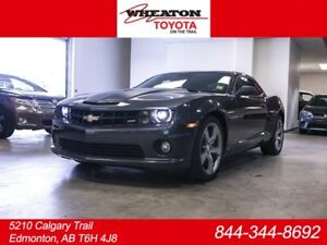 2010 Chevrolet Camaro V8 SS, Leather, Heated Seats, Sunroof, All