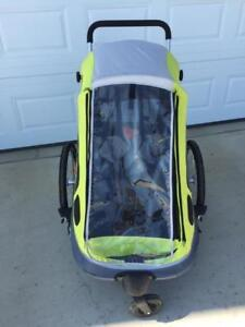 Cyclic Steadytrak Bike trailer/stroller