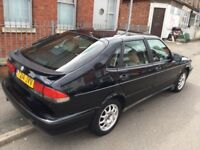 Automatic Saab 93--10 months mot,excellent runner,2 keys & remotes,ac,alloys,clean interior & body