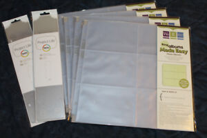 NEW   WRMK Page Protectors and Project Life Dividers