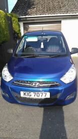HYUNDAI I10 CLASSIC 5 DOOR OCT 2013 - LOW MILEAGE WITH 1 YEAR + WARRANTY