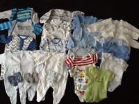 Baby Boys Clothes, New Baby up to 7.5lb.