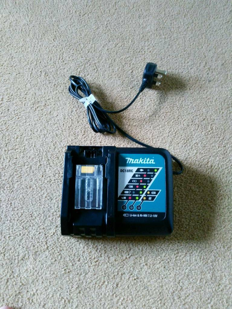 Makita lxt battery charger DC18RC