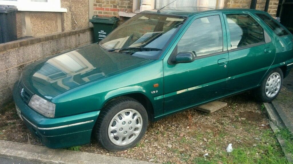 citroen zx 1 9d dimension diesel 1994 green good condition for age in dartford kent gumtree. Black Bedroom Furniture Sets. Home Design Ideas