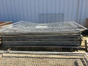 Temporary fence panels and parts - Damaged Stock Clearance